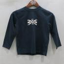 Burberry(버버리) 100% 코튼 네이비 아동용 맨투맨 티셔츠 [부산센텀본점]