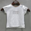 Burberry(버버리) 체크 로고 아동용 반팔 티셔츠 [부산센텀본점]