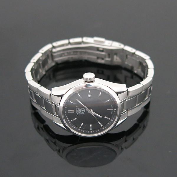 Tag Heuer(태그호이어) WV1414 CARRERA 까레라(카레라) 블랙판 스틸브레이슬릿 쿼츠 여성용 시계 [부산서면롯데점] 이미지4 - 고이비토 중고명품