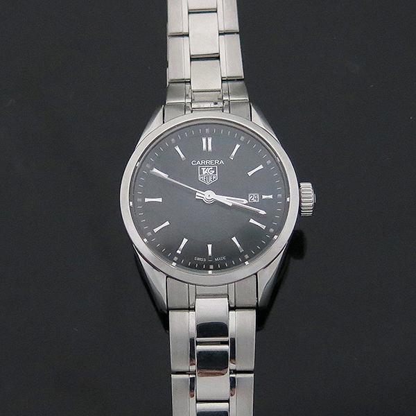 Tag Heuer(태그호이어) WV1414 CARRERA 까레라(카레라) 블랙판 스틸브레이슬릿 쿼츠 여성용 시계 [부산서면롯데점] 이미지3 - 고이비토 중고명품