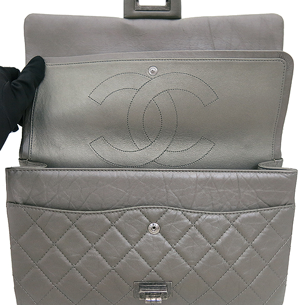 Chanel(샤넬) A37590 2.55 빈티지 라지(L) 사이즈 메탈 체인 숄더백 [부산센텀본점] 이미지3 - 고이비토 중고명품
