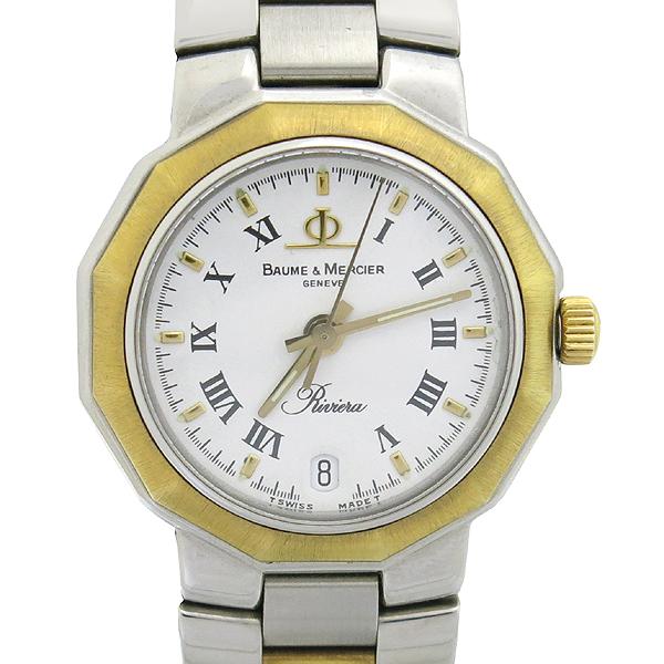 Baume&Mercier (보메 메르시에) 5231 RIVIERA (리비에라) 콤비 쿼츠 여성용 시계 [강남본점]