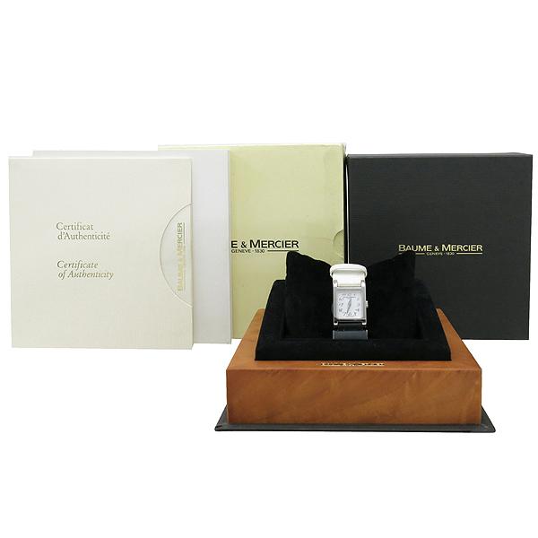 Baume&Mercier(보메 메르시에) VICE-VERSA 화이트 밴드 4포인트 다이아 여성용 시계 [강남본점]