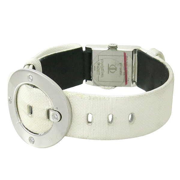 Baume&Mercier(보메 메르시에) VICE-VERSA 화이트 밴드 4포인트 다이아 여성용 시계 [강남본점] 이미지4 - 고이비토 중고명품