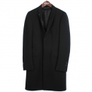 COSTUME NATIONAL(커스텀내셔널) 100% 울 블랙 컬러 남성용 코트 [동대문점]