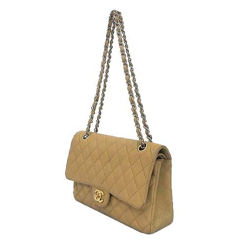 Chanel(샤넬) 캐비어 스킨 클래식 M 사이즈 금장 체인 숄더백 [부산센텀본점]