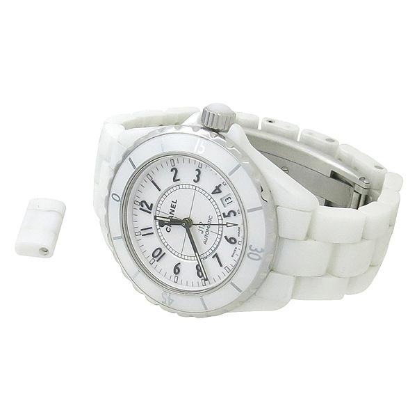 Chanel(샤넬) H0970 오토매틱 J12 화이트세라믹 38MM 남성용 시계 [강남본점]