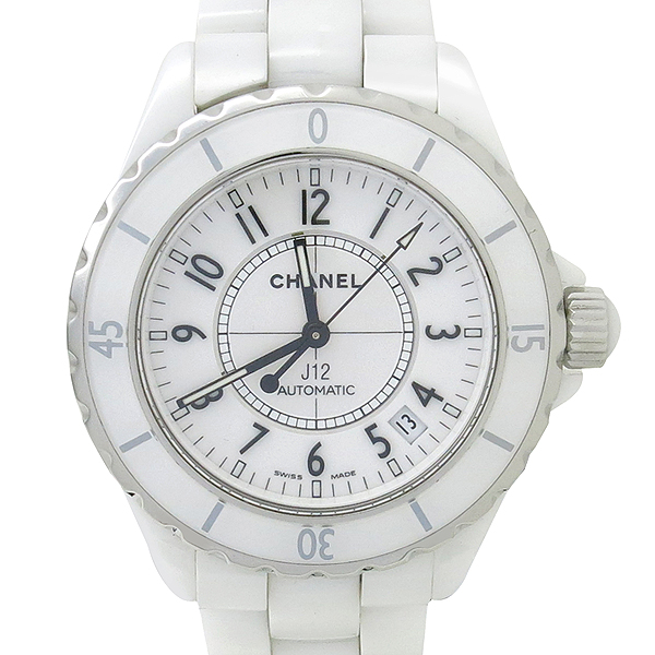 Chanel(샤넬) H0970 오토매틱 J12 화이트세라믹 38MM 남성용 시계 [강남본점] 이미지2 - 고이비토 중고명품