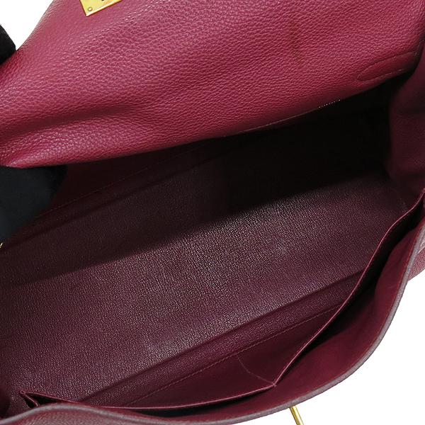 Hermes(에르메스) 버건디 컬러 켈리 35 금장 토트백 + 숄더 스트랩 [강남본점] 이미지7 - 고이비토 중고명품