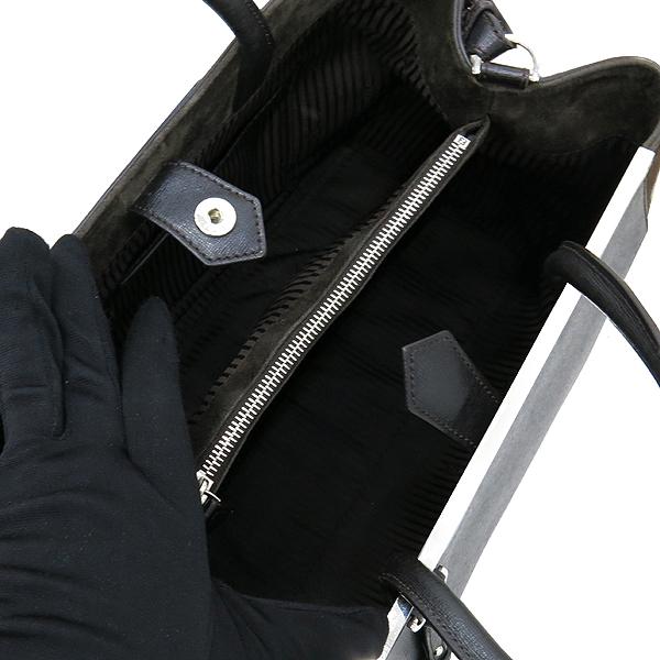 Fendi(펜디) 8BH250 블랙 레더 송치 트리밍 투쥬르 2WAY [대구반월당본점] 이미지7 - 고이비토 중고명품
