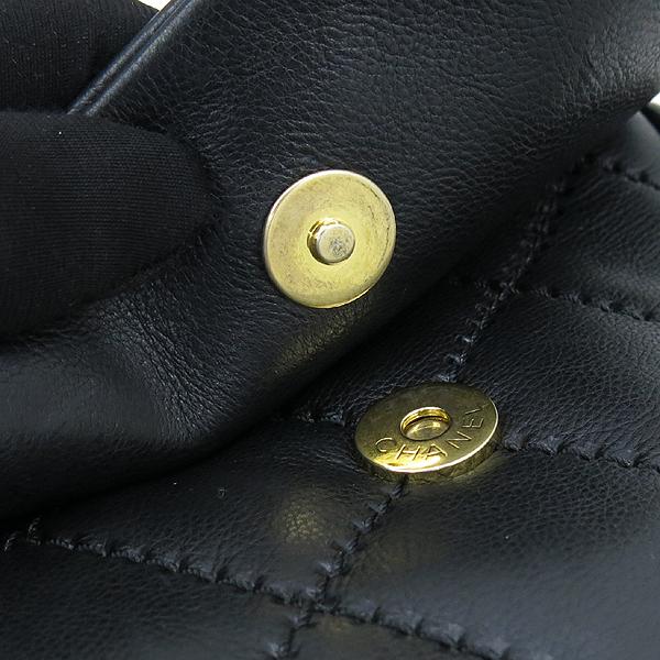 Chanel(샤넬) 블랙레더 퀼팅 COCO 금장로고 체인 플랩 숄더백 [강남본점] 이미지5 - 고이비토 중고명품