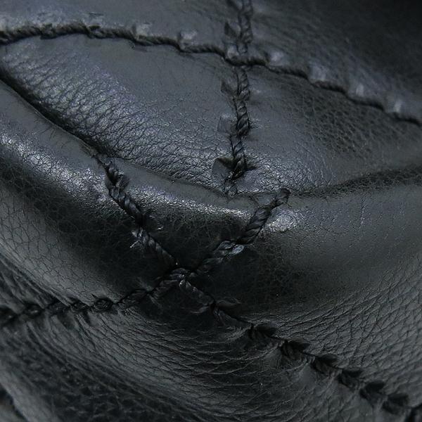 Chanel(샤넬) 블랙레더 퀼팅 COCO 금장로고 체인 플랩 숄더백 [강남본점] 이미지6 - 고이비토 중고명품