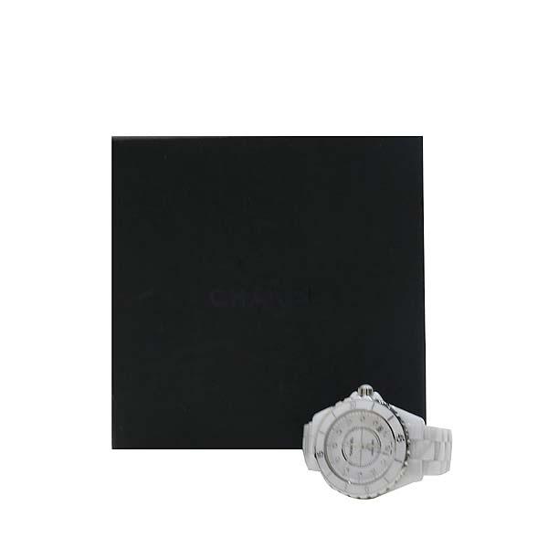 Chanel(샤넬) H1629 J12 화이트 세라믹 12P 다이아 오토매틱 남여공용 시계 [인천점]