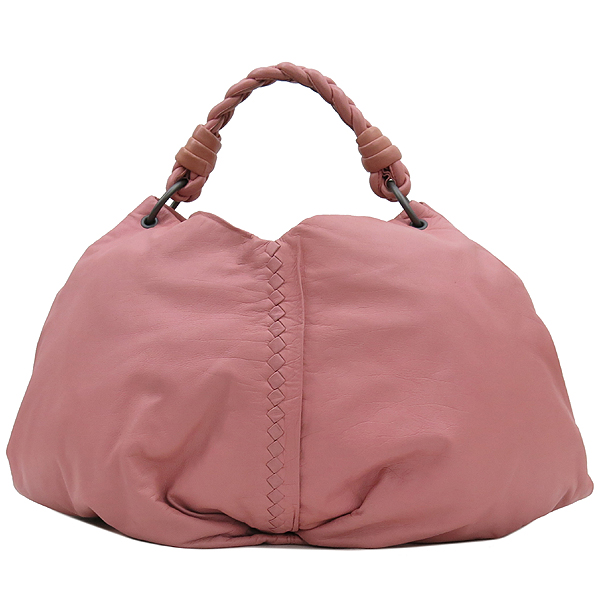 BOTTEGAVENETA(보테가베네타) 240042 VN570 핑크 레더 인트레치아토 숄더백 [강남본점] 이미지2 - 고이비토 중고명품