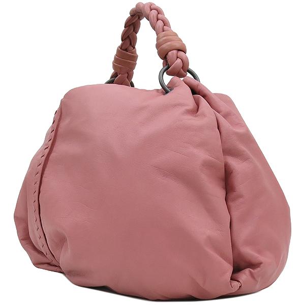 BOTTEGAVENETA(보테가베네타) 240042 VN570 핑크 레더 인트레치아토 숄더백 [강남본점] 이미지3 - 고이비토 중고명품