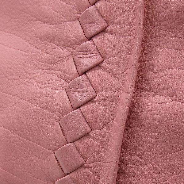 BOTTEGAVENETA(보테가베네타) 240042 VN570 핑크 레더 인트레치아토 숄더백 [강남본점] 이미지4 - 고이비토 중고명품