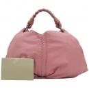 BOTTEGAVENETA(보테가베네타) 240042 VN570 핑크 레더 인트레치아토 숄더백 [강남본점]