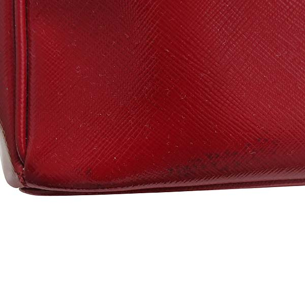 Prada(프라다) BN2274 레드 페이던트 사피아노 럭스 토트백 + 숄더 스트랩 [인천점] 이미지5 - 고이비토 중고명품