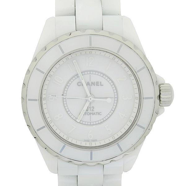 Chanel(샤넬) H3443 J12 화이트 세라믹 38MM 오토매틱 남여공용 시계 [대구동성로점] 이미지2 - 고이비토 중고명품