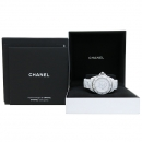 Chanel(샤넬) H3443 J12 화이트 세라믹 38MM 오토매틱 남여공용 시계 [대구동성로점]
