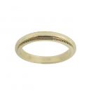 Tiffany(티파니) 18K(750) 옐로우 골드 밀그레인 3MM 반지-9호 [동대문점]
