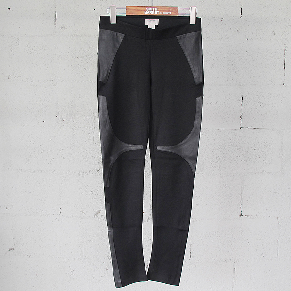 helmutlang(헬무트랭) 블랙 컬러 여성용 레깅스핏 팬츠 [동대문점]