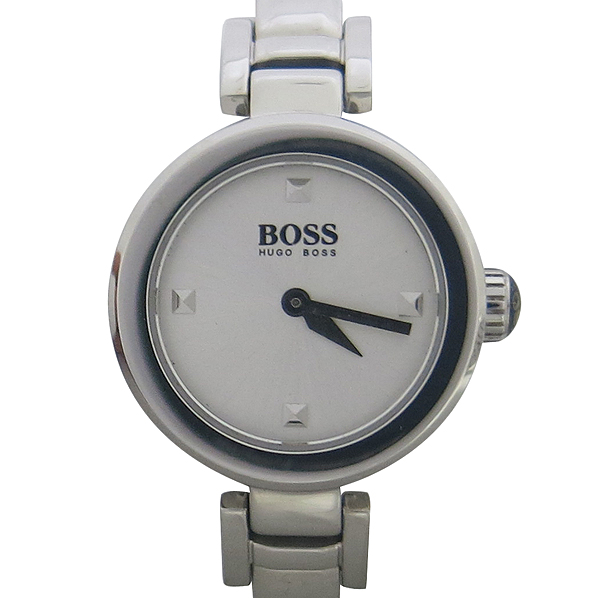 Hugo Boss(휴고보스) HB.83.3.14.2174 라운드 스틸 쿼츠 여성용 팔찌형 시계 [동대문점]
