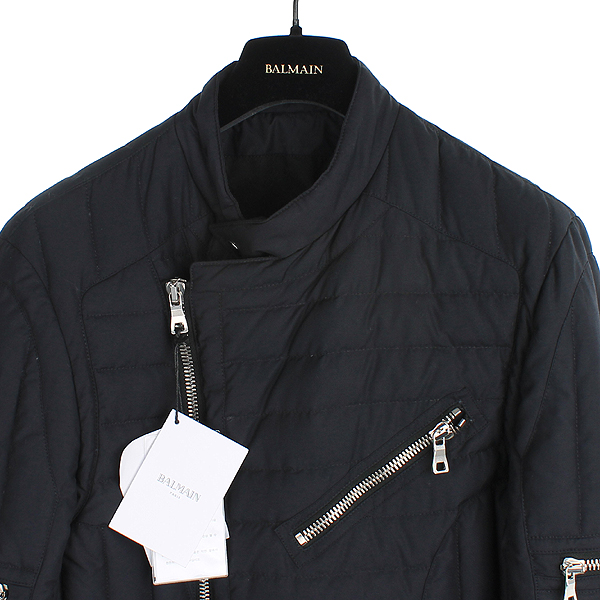 Balmain(발망) 15FW W5HT843B923 퀄티드 다운 남성용 바이커 패딩 자켓 [대전본점] 이미지2 - 고이비토 중고명품