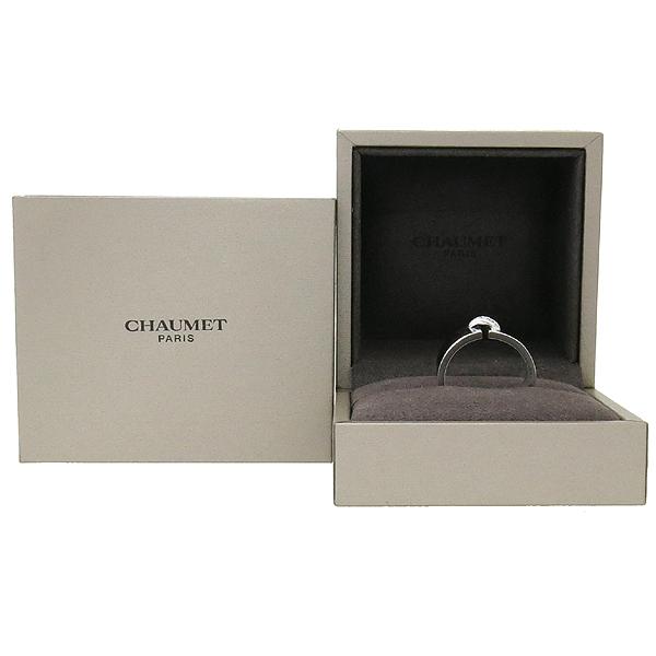 CHAUMET(쇼메) 18K 화이트 골드 리앙 6포인트 7mm 반지 - 20호 [강남본점]