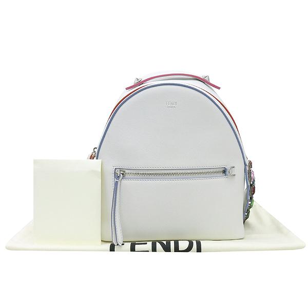 Fendi(펜디) 8BZ036 오프화이트 컬러 레더 백팩 [강남본점]