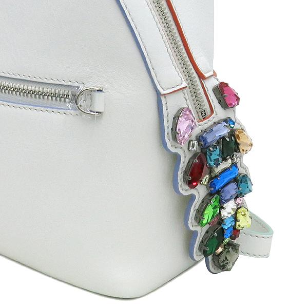Fendi(펜디) 8BZ036 오프화이트 컬러 레더 백팩 [강남본점] 이미지3 - 고이비토 중고명품