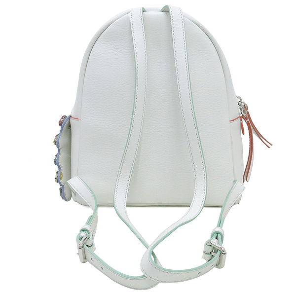 Fendi(펜디) 8BZ036 오프화이트 컬러 레더 백팩 [강남본점] 이미지4 - 고이비토 중고명품