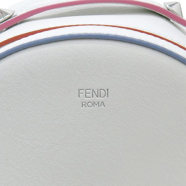 Fendi(펜디) 8BZ036 오프화이트 컬러 레더 백팩 [강남본점] 이미지5 - 고이비토 중고명품