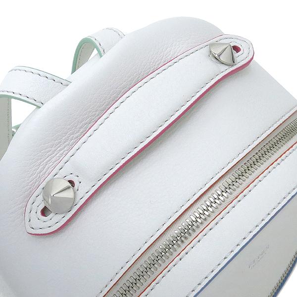 Fendi(펜디) 8BZ036 오프화이트 컬러 레더 백팩 [강남본점] 이미지6 - 고이비토 중고명품