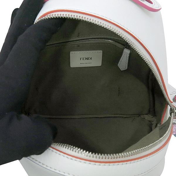 Fendi(펜디) 8BZ036 오프화이트 컬러 레더 백팩 [강남본점] 이미지7 - 고이비토 중고명품