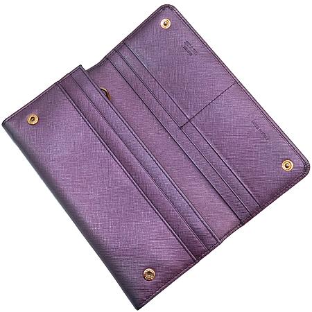 Prada(프라다) 1M1132 금장 로고 장식 SAFFIANO (사피아노) 장지갑 [강남본점] 이미지3 - 고이비토 중고명품