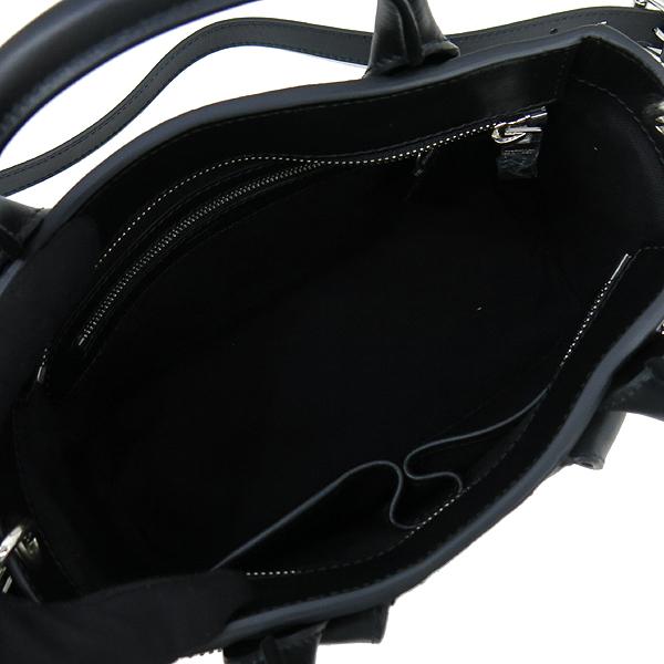 ALEXANDER MCQUEEN(알렉산더맥퀸) 416957 Zipped 실버스터드 블랙 CALF 토트백 + 숄더스트랩 [강남본점] 이미지6 - 고이비토 중고명품