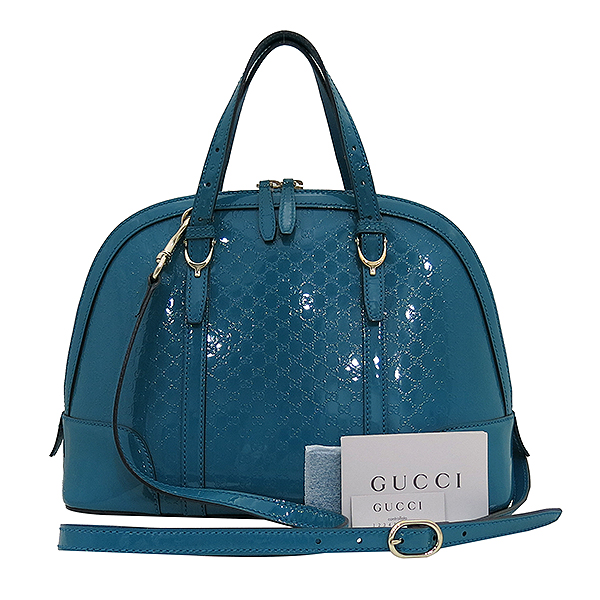 Gucci(구찌) 309617 블루 컬러 페이던트 토트백 + 숄더 스트랩 [부산센텀본점]