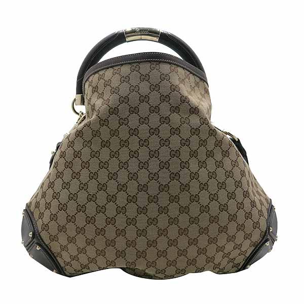 Gucci(구찌) 182888 자가드 뱀부 장식 트리밍 인디백 숄더백 [인천점] 이미지4 - 고이비토 중고명품
