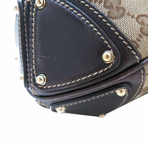 Gucci(구찌) 182888 자가드 뱀부 장식 트리밍 인디백 숄더백 [인천점] 이미지5 - 고이비토 중고명품