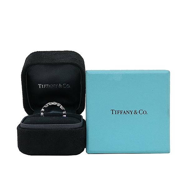 Tiffany(티파니) PT950(플래티늄) 풀 다이아 0.65 케럿 스윙 웨딩 반지 - 6호 [부산센텀본점]