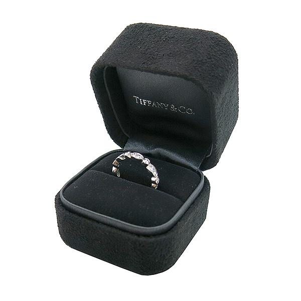 Tiffany(티파니) PT950(플래티늄) 풀 다이아 0.65 케럿 스윙 웨딩 반지 - 6호 [부산센텀본점] 이미지2 - 고이비토 중고명품