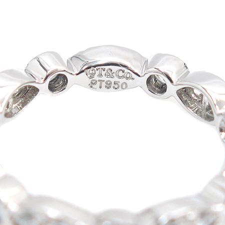 Tiffany(티파니) PT950(플래티늄) 풀 다이아 0.65 케럿 스윙 웨딩 반지