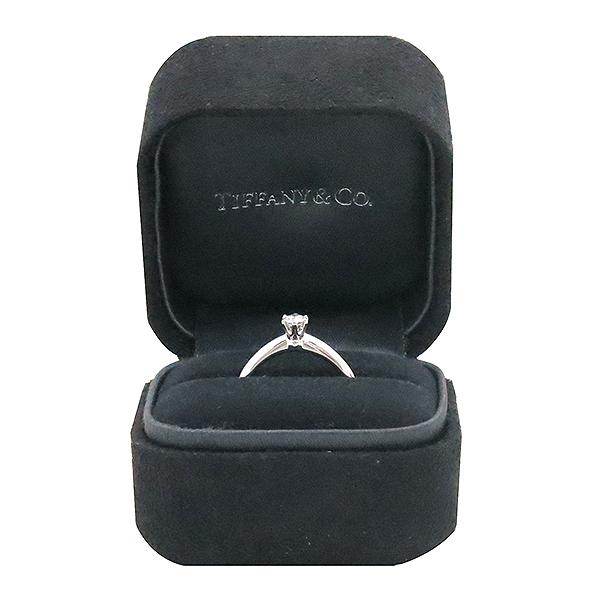 Tiffany(티파니) PT950(플래티늄) 0.16ct(캐럿) 다이아 웨딩 반지 - 8 호  [대구반월당본점]