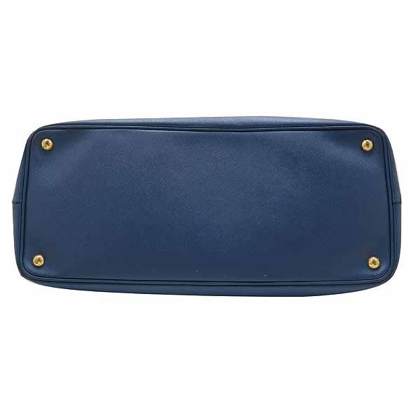 Prada(프라다) BN1802 블루 사피아노 레더 럭스 토트백[대전본점] 이미지5 - 고이비토 중고명품