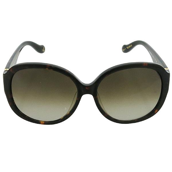 Vivienne_Westwood VW847S02 측면 금장 로고 장식 레오파드 선글라스 이미지2 - 고이비토 중고명품
