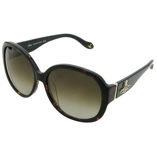 Vivienne_Westwood VW847S02 측면 금장 로고 장식 레오파드 선글라스 이미지3 - 고이비토 중고명품