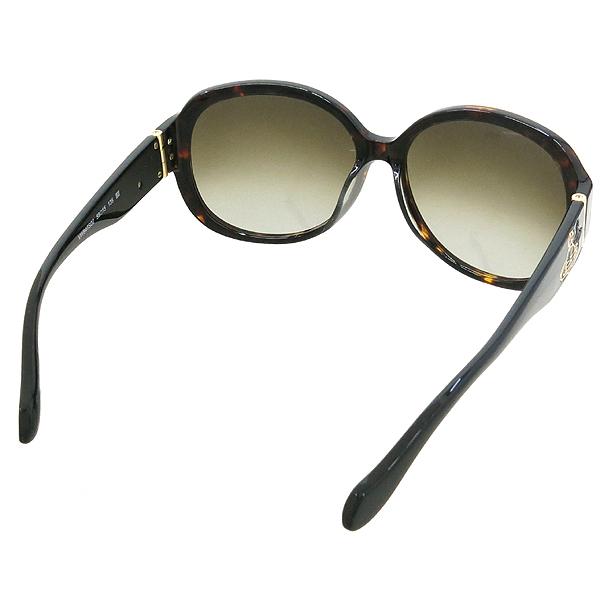 Vivienne_Westwood VW847S02 측면 금장 로고 장식 레오파드 선글라스 이미지4 - 고이비토 중고명품