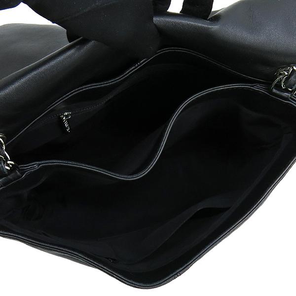 Chanel(샤넬) COCO 은장 로고 블랙 램스킨 체인 숄더백 [강남본점] 이미지5 - 고이비토 중고명품
