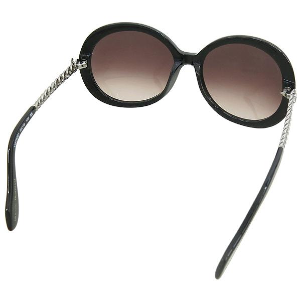 Vivienne_Westwood VW79301 측면 은장 로고 장식 블랙 선글라스 이미지4 - 고이비토 중고명품